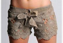 shorts, bikinis, underwears (crochet)