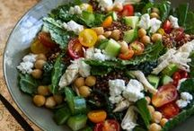 Salads / by Janet Fossen / Get Healthier With Me
