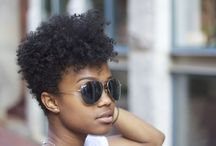 Short natural hair cuts / Great hairstyles for black women with short natural hair.