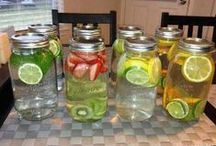 Healthy Drinks & Infused Water / I love Infused water and other healthy drinks. Here's some of my favorites and some on my to try list. Please share your favorites on my FB group   https://www.facebook.com/groups/GetHealthierWithMe/