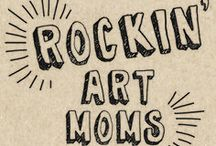 Rockin' Art for Kids / This is a collaborative board from 16 rockin' art moms providing you with awesome art projects and ideas for kids. We all believe in the power of creativity as a necessary part of kids' lives. Join us! / by Fun at Home with Kids