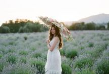 Ruche Bridal Lookbook - Lace and Lavender / This Modern Romance - Stephanie Williams Photography {Featured on Green Wedding Shoes}