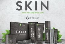 It Works Skin Care / Here are some of my favorite natural products from It Works! www.AmazingWrap.com  / by Janet Fossen / Get Healthier With Me