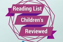 Reading List Children's Corner Crafts / Crafts that fit themes from books written about in Children's Corner on Reading List