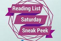 Reading List - Saturday Sneak Peek