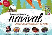 Navival / Parque de Navidad Infantil de la Feria de Valladolid que se celebra todos los años del 26 de diciembre al 4 de enero.