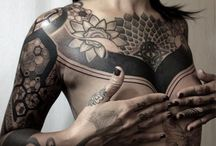 Tattoos || Drawings / I like a lot of different styles of tattoos, but I have a weakness for Nissaco and Thomas Hooper. They make so raw tattoos with amazing details.