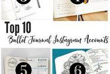 Bullet Journal, Inspiration, Designs, & More