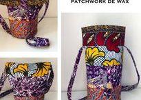Made by AFRIKADES /  Mille et une petites idées en Wax à faire, ou a acheter