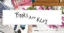 Books Are Key - BookMarks / Showcase of all bookmarks that appeared in my Etsy story, Books Are Key by Marissa Writes
