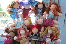 Waldorf and Handmade Dolls and Toys / by Kelly Hall