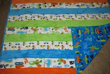 Toy Chest cuddle quilt ideas / by Tammi Orazem