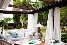 Backyard,patio,outdoor / outdoor living / by Udine