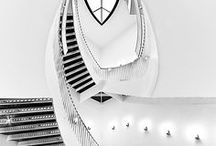 Stairways / Stairways as a design feature. They are not only functional!
