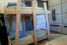 toddler sleeping arrangements / by Tammi Orazem
