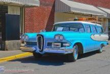 1958 Edsel / They said it didn't sell because this car was ugly.  But ..... to me, this car is by far ...................... the MOST BEAUTIFUL CAR ever made.