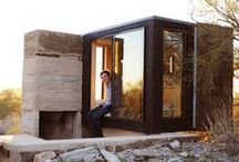 Small Living Spaces / A lot can be done with small spaces. Often a small space is the goal.