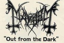Band flyers (Norwegian Black Metal) / Band flyers (Norwegian Black Metal)