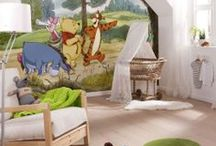 Wall Murals / Official character wall murals - Perfect for adding a character theme or creating a fantastic feature in your child's bedroom or playroom.