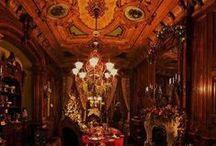 Buildings, Interiors / #dark building #castles #victorian architecture #dark architecture #horror castle