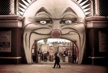 Carnival & Circus / #carnival #mask #masquerade #saturnalia #carnevale #circus #sideshow
