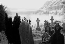 Cemetery / #cemetery #tombstone #tombs #graveyard #epitaph #mortuary #churchyard #church cemetery #graves #resting place #necropolis