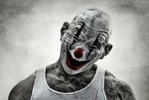 Coulrophobia / Looks suspiciously like the sort of thing idle pseudo-intellectuals invent on the Internet and which every smarty-pants takes up thereafter.