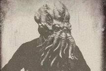 "Cthulhu / Cthulhu is a cosmic entity that first appeared in the short story ""The Call of Cthulhu"", published in the pulp magazine Weird Tales in 1928. The character was created by writer H. P. Lovecraft."