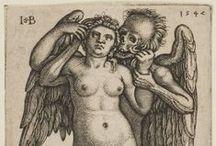 Dance of Death / Dance of Death, also variously called Danse Macabre (French), Danza Macabra (Italian), Dansul Morţii (Romanian), Danza de la Muerte (Spanish), Dansa de la Mort (Catalan), Dança Macabra (Portuguese language), Totentanz (German), Dodendans (Dutch), Surmatants (Estonian), is an artistic genre of late-medieval allegory on the universality of death: no matter one's station in life, the Dance of Death unites all.