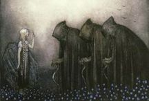 Darkness / #darkness #grim reaper #morte #death #darkness my old friend