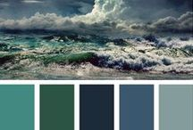 Colour Palettes / Colour references for future projects