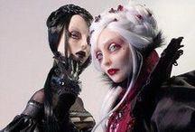 Fantasy Dolls / #figurine #model #puppet #dolly #manikin #toy