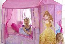 Disney Princess / Bibbidy, Bobbidy, Boo! Be your little Princess' fairy godmother and transform her bedroom into a land far, far, away full of fantastic Disney Princess bedroom accessories featuring Belle, Rapunzel, Cinderella and more!