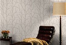 Wallpaper / Stylish wallpapers for the home including brick, stone and wood effects.