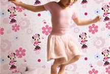Minnie Mouse / Pretty bedding, bedroom furniture and accessories from everyone's favourite mouse.