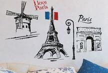 Paris / Gorgeous Parisian themed decor