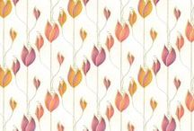 Seamless pattern designs / The pleasure of pattern. Fabric and decorative paper pattern inspiration