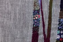 Hand Embroidery / Interesting contemporary hand embroidery
