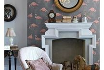 Flamingo Wallpaper / Stunning flamingo themed wallpaper in a range of colours and styles from the traditional to the contemporary.