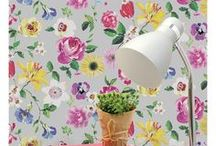 Floral Wallpaper / From bold and vibrant to sweet and subtle we have a whole range of pretty floral wallpapers to add a feminine feel to any room, ideal for feature walls and entire rooms.
