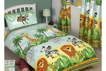 Jungle / If you are wishing to add a jungle animal theme to your child's bedroom or nursery, look no further. We have jungle themed bedding, toddler beds, bedroom furniture and wall décor (and more!) including exclusive designs you will not find elsewhere!