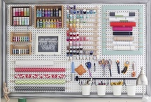 """Getting Organized / """"A place for everything and everything in its place.""""    / by Kitty Calico"""
