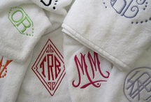 Monogram it! / by Kitty Calico