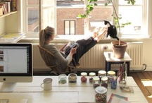 Workspaces / by Kitty Calico