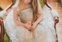 Little Princesses & Flower Girls / Dreamy dresses, outfits and accessories for sweet little princesses for dress-up, ballet, dance, pageants or flower girl.
