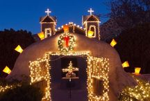 Holidays in New Mexico / Spend the holidays in Northern New Mexico, eat, drink, ski and be merry!