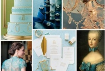 Wedding/Party: Blue / Party planning ideas that include themes and color combinations of: Teal, turquoise, cyan, aqua, indigo, cobalt, maize, lapis lazuli, robin's egg blue, powder blue and navy blue.