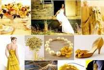 Wedding/Party: Yellow / Party planning ideas that include themes and color combinations of: Yellow, canary, poppy, marigold, sunflower, lemon and mustard.
