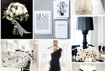 Wedding/Party: Black & White / Party planning ideas that include themes and color combinations of the elegant simplicity that is black and white.