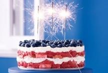 Holiday Party: 4th of July / Fourth of July party planning inspiration including, food recipes and décor ideas.